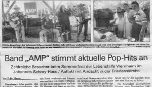AMP GIG Sommerfest 2013 Johannes-Schrey-Haus Viernheim